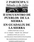 II Encuentro de Pueblos de la Sierra