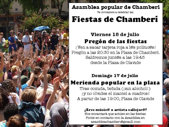 Fiestas de Chamberí