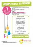 Asamblea Moncloa os invita a su Fiesta ¡Compi, vente a la Bombi¡ en el Parque de la Bombilla el día 1 de Octubre