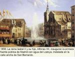 Inauguración del Canal de Isabel II