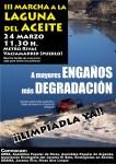 Marcha a la Laguna del Aceite. 24 de Marzo