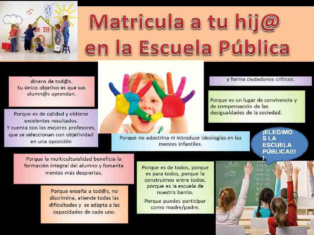 Campaña por la educación pública