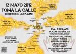 #12M Marchas desde pueblos y barrios a Sol