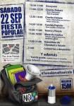 22S: Fiesta popular Chamberí y Tetuán #Tomalavueltaalcole