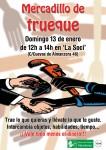 Mercadillo de Trueque en Manoteras el domingo 13