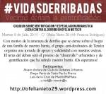 Vecinas contra la gentrificación. Coloquio en torno a lucha contra el derribo en Ofelia Nieto 29