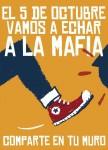 #5-O  ¡Fuera mafia! ¡Hola democracia!