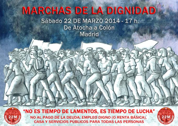 #22M Marchas de la Dignidad a Madrid