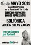 15M 15-Mayo- 2014 EN SOL 11:30h