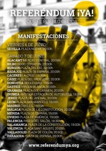 cartel manis Referendum Ya 7-06-2014