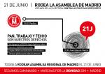 21 Junio #RODEA LA ASAMBLEA DE MADRID