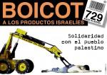 ¡BOICOT AL ESTADO ASESINO DE ISRAEL! (el nuevo número de la bestia, 729 en el CB)