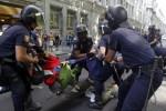 Dos antidisturbios serán juzgados por agredir a prensa durante las Marchas de la Dignidad - Martes 16-sept 11:00 Plaza de Castilla
