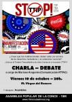 """CHARLA-DEBATE ¿COMO NOS AFECTARA EL TRATADO DE """"LIBRE"""" COMERCIO, TTIP?"""