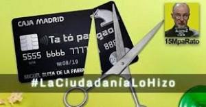 ¿QUIEN DESVELO LO DE LAS BLACK CARDS?, ¡LA CIUDADANIA LO HIZO!