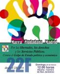 #22F MAREA CIUDADANA de Atocha a la Carrera de San Jerónimo 12:00 horas