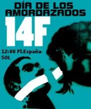 MANIFESTACIÓN 14F# DÍA DE LOS AMOR DAZADOS