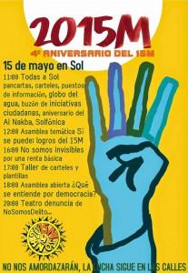 cartel 15 M 2015