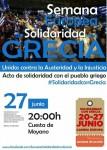 Movilización europea de solidaridad con Grecia 27J 2015